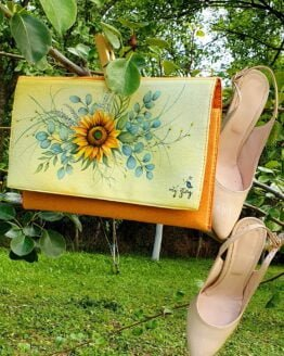 sunflower_hand_painted_letter_bag_front